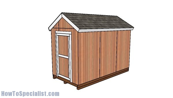 6x12 Shed Plans Free