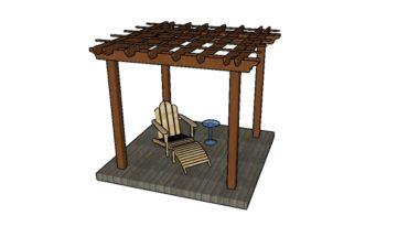 8x8 Pergola - Free DIY Plans