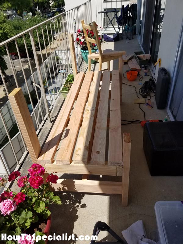 Assembling-the-2x4-bench
