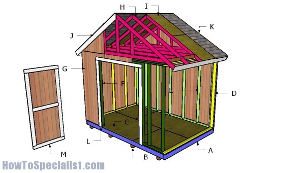 Building a 12x8 shed