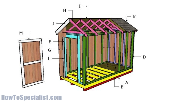 Building a 6x12 shed