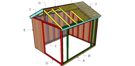 Building an outdoor field shelter