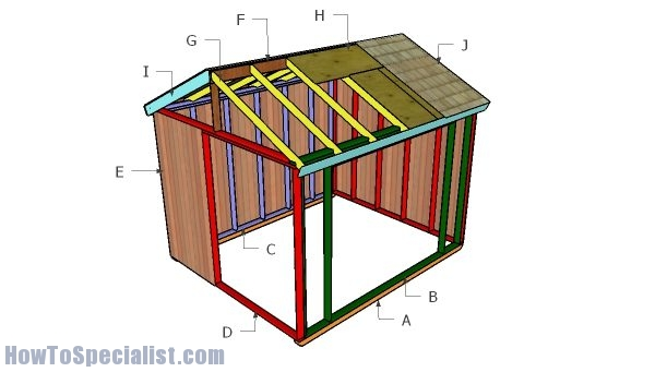 Building an outdoor field shelter