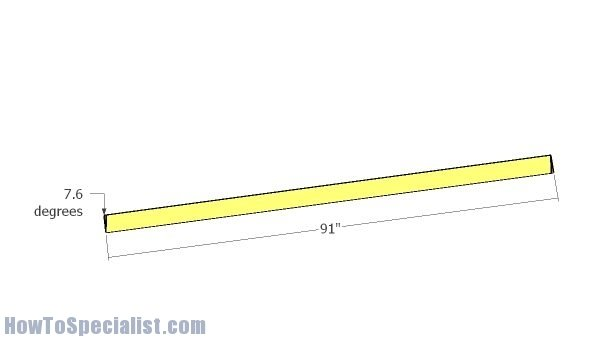Large 16 Picnic Table Plans Howtospecialist How To