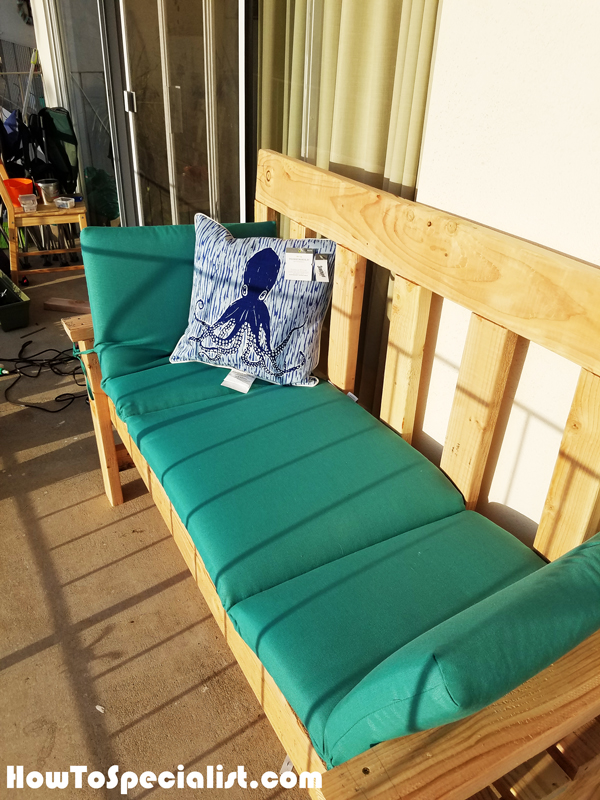 Diy Simple 2x4 Wood Bench Howtospecialist How To Build Step By Step Diy Plans