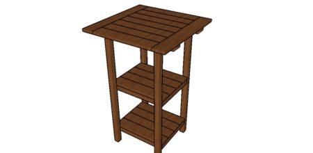 Free Bar Table Plans
