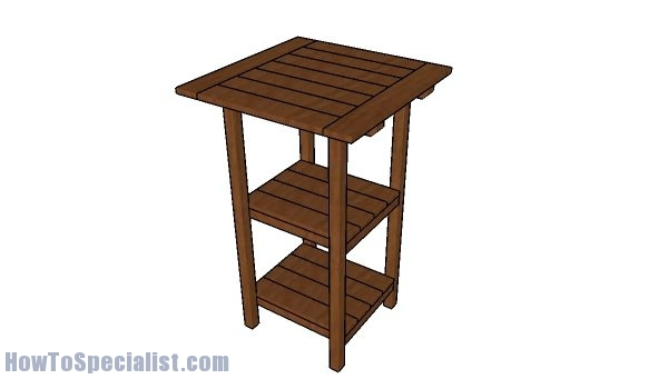 Free Bar Table Plans