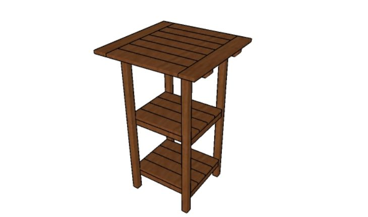 Bar Table Plans Howtospecialist How To Build Step By Step Diy Plans