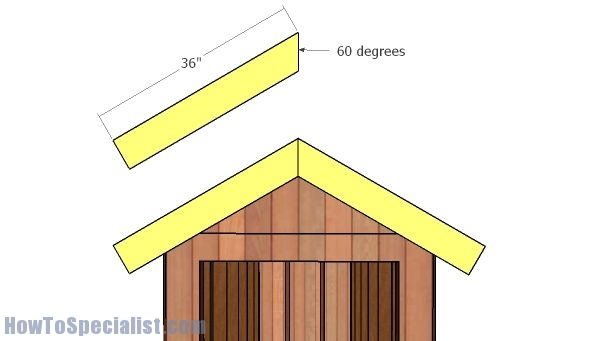 Front and back wall trims