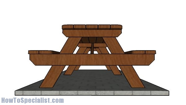 How to buildiong a 12 foot picnic table