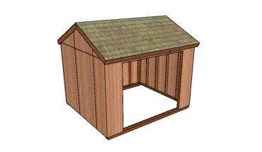 Outdoor Field Shelter Plans