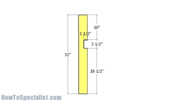 Ridge beam support
