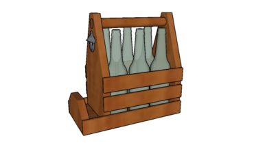 Wooden 6 pack holder plans