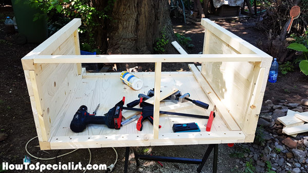 Tabletop-frame