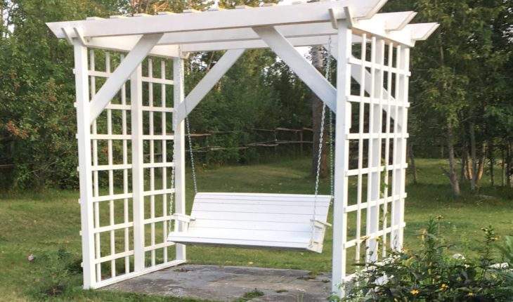 Building an arbor swing