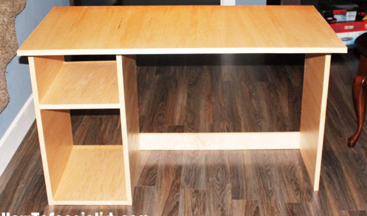 DIY Simple Computer Desk
