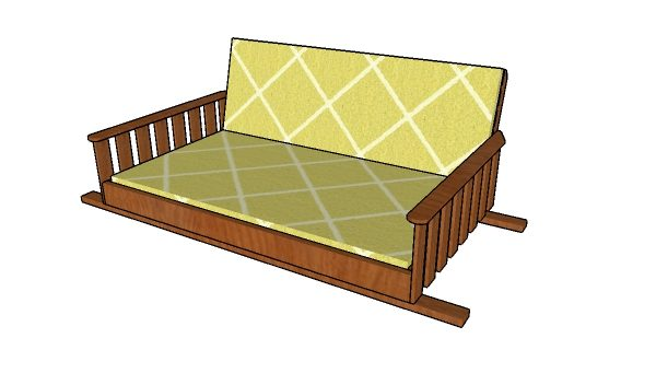 Swing Bed Plans Free Diy Plans Howtospecialist How