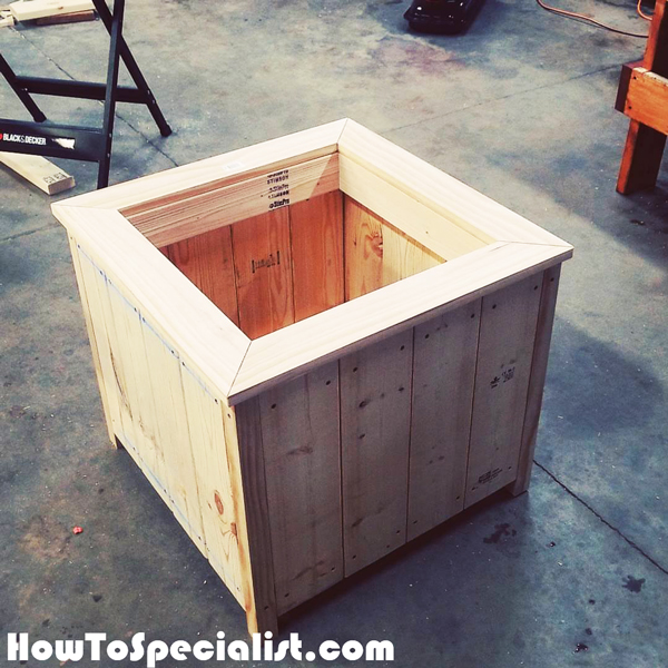 Diy Square Planter Box
