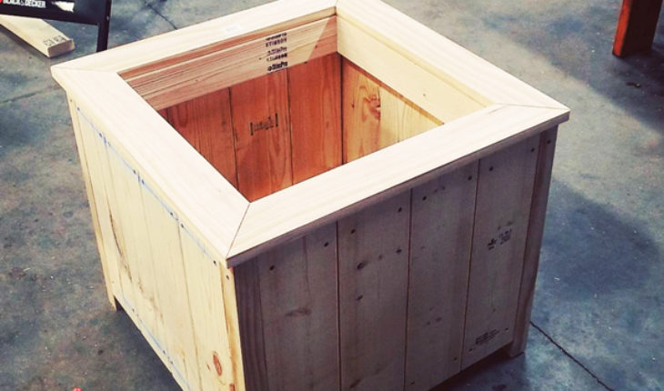 DIY-Square-Planter-Box