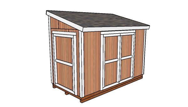 12x6 Lean to Shed Plans