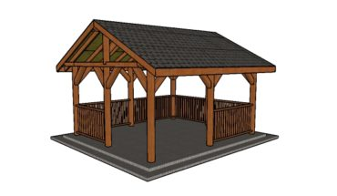 Diy Gazebo Plans Howtospecialist How To Build Step By