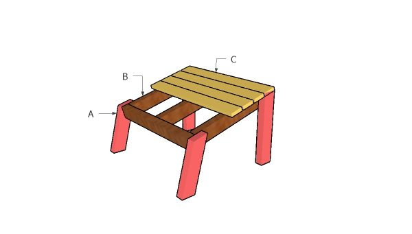 how to build a footrest