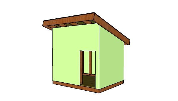 XL Dog House Plans