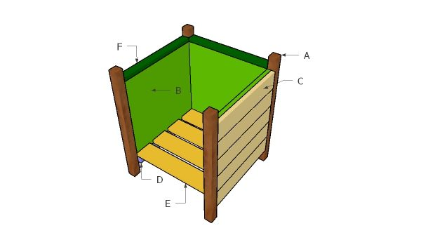 Building a square planter box