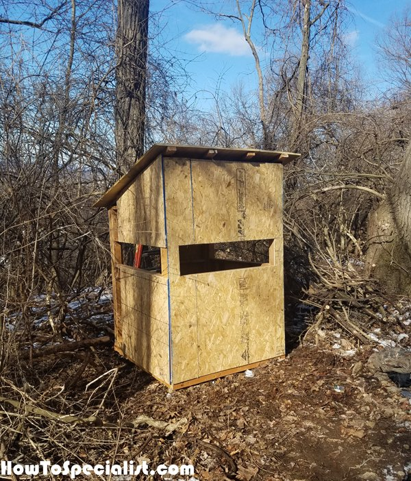 DIY 5x5 Deer Blind | HowToSpecialist
