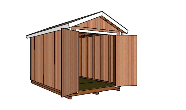 8 14 Gable Shed Free Diy Plans