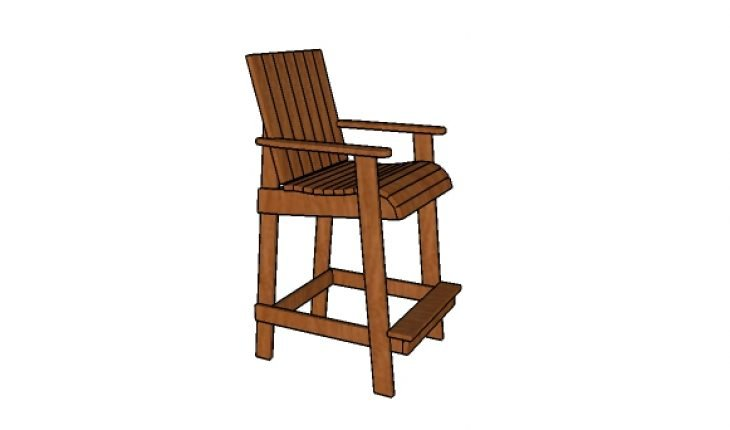 Bar height adirondack chair plans g