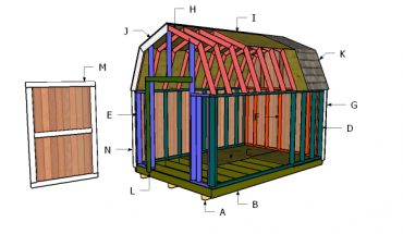 Building a 8x12 shed