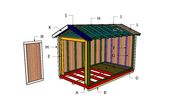 Building a 8x14 shed