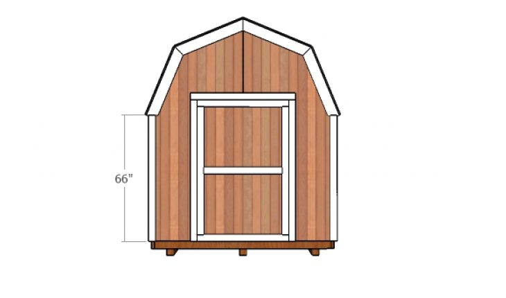 This Step By Step Diy Woodworking Project Is About 8×10 Gambrel Shed Door  Plans. This Is PART 3 Of The Barn Shed, Where I Show You How To Build The  Small ...
