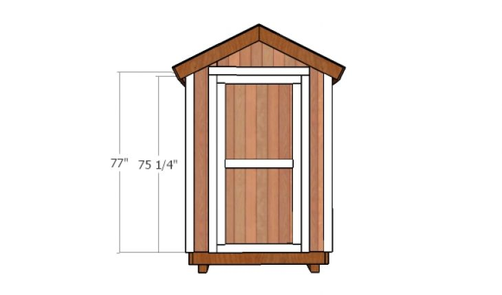 5x5 Shed Door Plans Howtospecialist How To Build Step