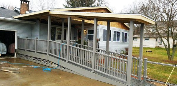 Diy Covered Porch Ramp