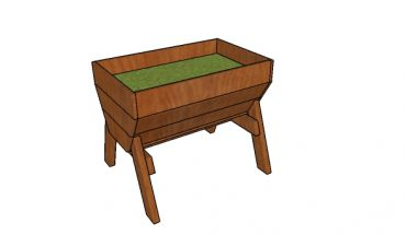 Small raised vegetable planter plans