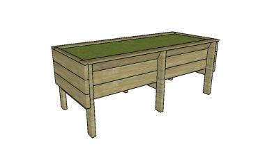 Vegetable Trough Planter Plans