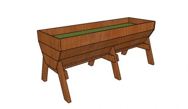 Vegetable Trough Planter Plans