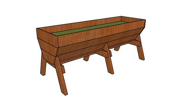Vegetable Trug Planter Plans | HowToSpecialist - How to ...