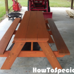 10 Picnic Table Plans Howtospecialist How To Build