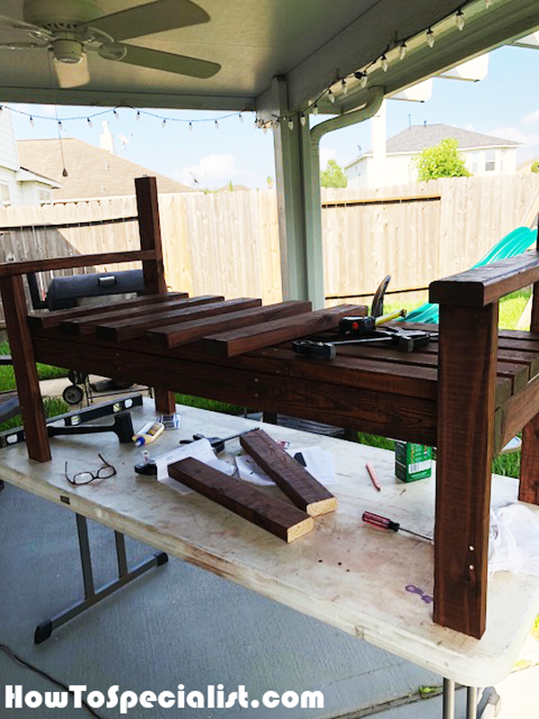 Assembling-the-bench