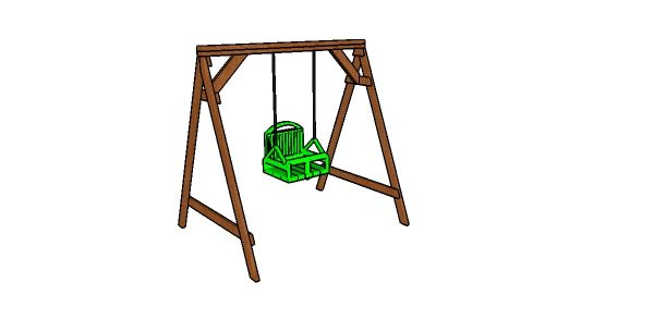 Toddler Swing Set Made From 2x4s Plans Howtospecialist