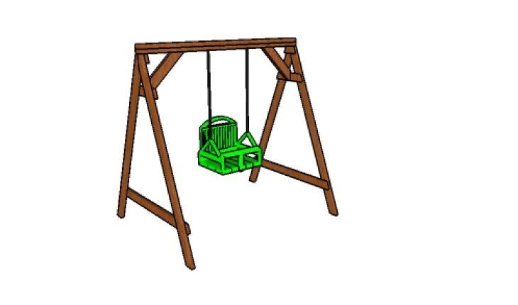 2x4 Swing Set Plans