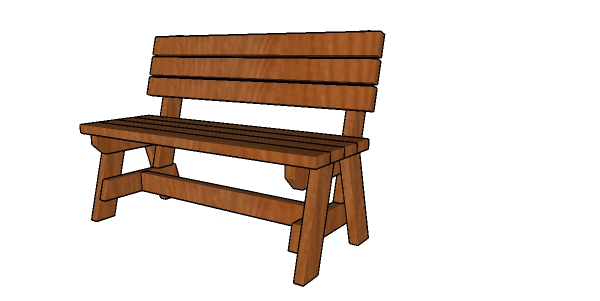 Miraculous 2X4 Bench With Back Plans Howtospecialist How To Build Uwap Interior Chair Design Uwaporg