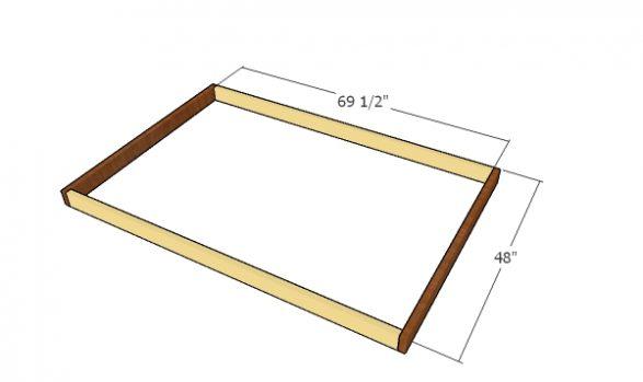 Assembling the main frames