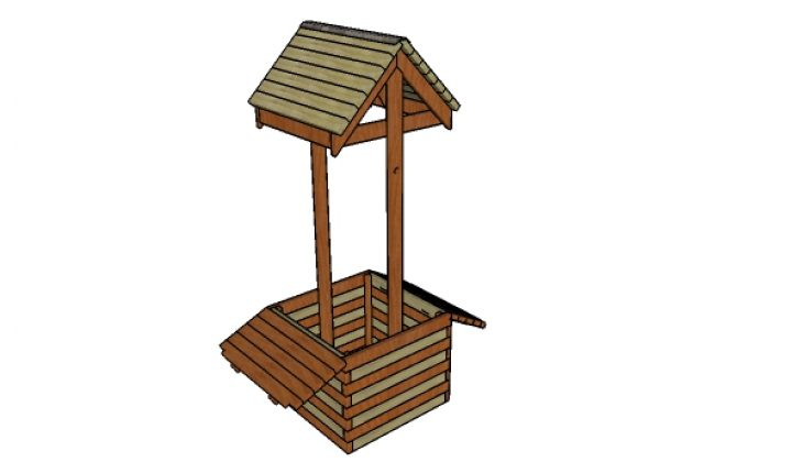 How to build a 2x4 wishing well