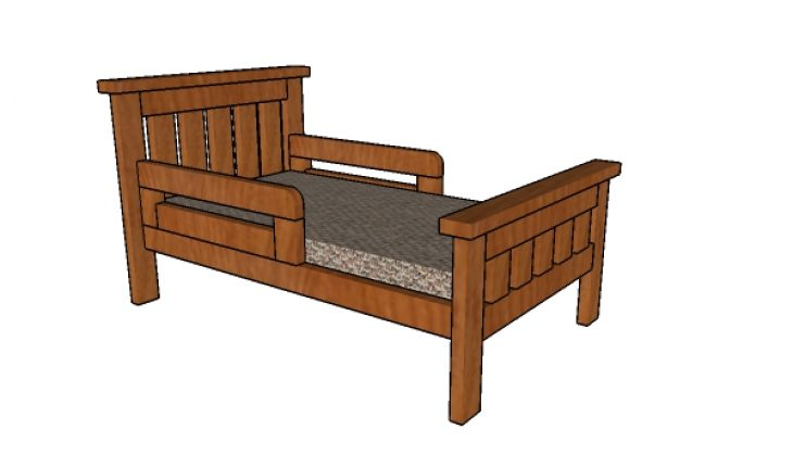 2x4 Toddler Bed Plans