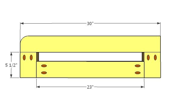 Assembling the guard rails