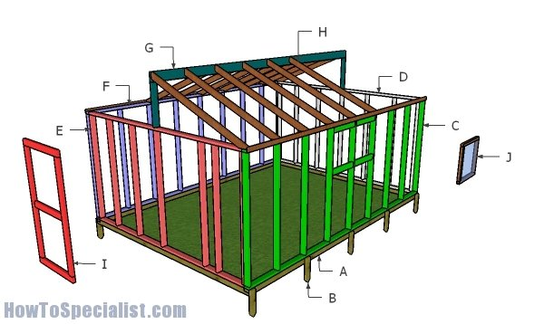 Building a 12x16 greenhouse
